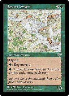 マジック:ザ・ギャザリング 【英語】 【ミラージュ】 イナゴの大群/Locust Swarm