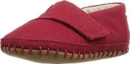 TOMS Kids Unisex Crib Alparagata (Infant/Toddler) Red Canvas Loafer 3 Infant M