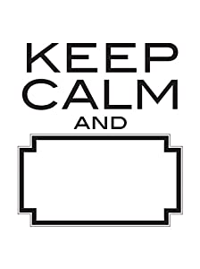 Wall Pops WPQ0747 WPQ0747 Keep Calm Dry Erase Wall Quote Decals from Wall Pops