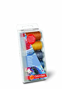 Gutermann Extra Strong & Jeans Sewing Thread - 5 Colour Box Set from Gutermann
