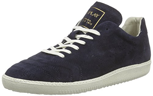 REPLAY Herren Replica Scatto Neymar Sneakers, Blau (Navy 40), 46 EU thumbnail
