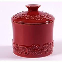 Butter Bell Antique Medium Spice Jar Rouge