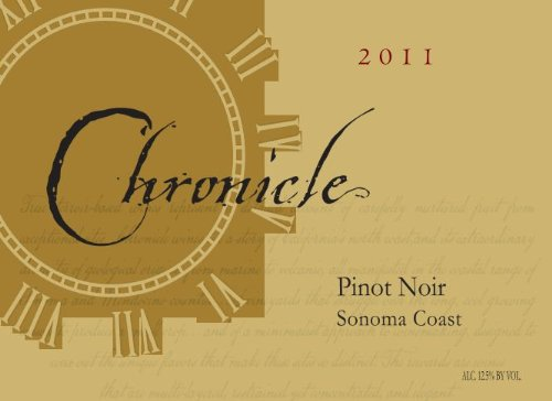2011 Chronicle Sonoma Coast Pinot Noir 750 Ml