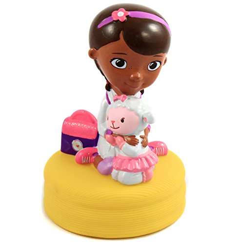 Disney Doc McStuffins Molded Character Coin Bank Kids Piggy Bank