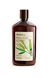 AHAVA Mineral Botanic Velvet Cream Wash, Bamboo and Pansy, 17 fl. oz.