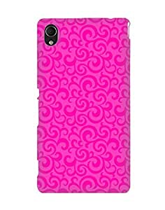 Pick Pattern Back Cover for Sony Xperia M4 Aqua