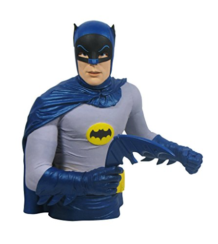 Diamond Select Toys Batman 1966 Classic TV Series Vinyl Bust Bank