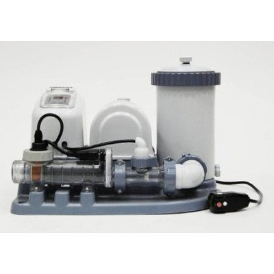 Intex 54611EG Krystal Clear Saltwater System and Filter Pump