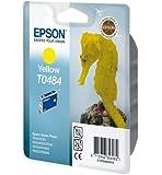 Epson T0484 Cartouche d'encre d'origine Jaune pour R200 R220 300 R320 340 ME RX500 600 620 640