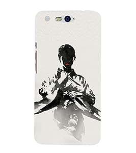 BLACK MAN Designer Back Case Cover for Infocus M812