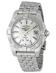 Breitling Men's A3733012/A716 Galactic 36 Silver Dial Watch