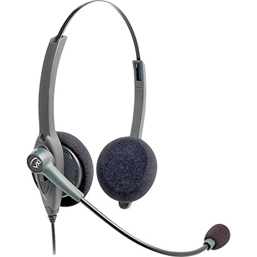 Brand New Vxi Passport 21 Professional Binaural Single-Wire Headset For Headset-Ready Phones And V-Series Quick Disconnet