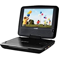 Coby TFDVD8509 8.5-Inch Widescreen TFT Portable DVD/CD/MP3 Player (Black)
