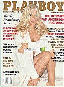 Playboy Magazine January 1996