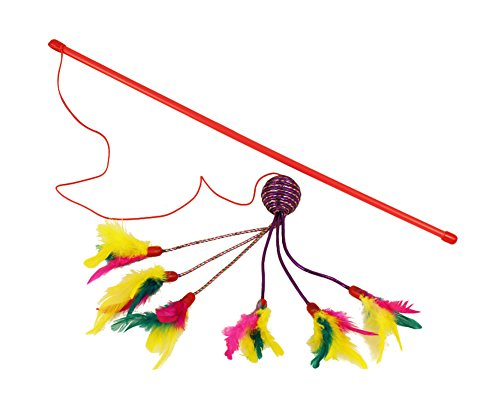 christmas-freerun-cat-catcher-teaser-wand-with-6-bird-refill-feather-cat-interactive-toy