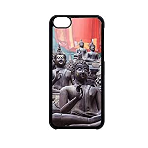 Vibhar printed case back cover for Apple iPhone 5c Bhuddism