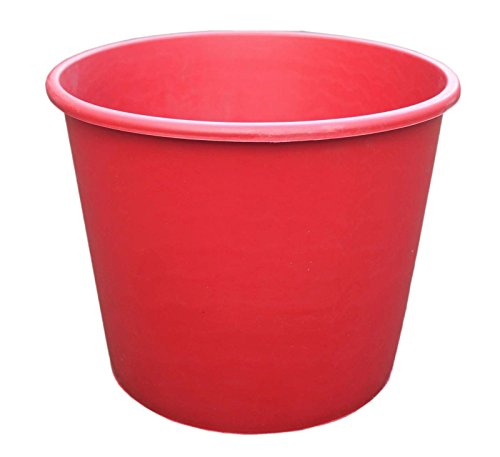 large-size-20l-red-plastic-plant-pot-outdoor-garden-flower-herb-container-planter