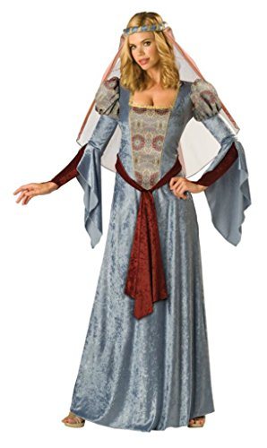 Incharacter Womens Renaissance Maid Marian Theme Party Halloween Costume