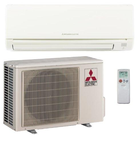 Single Room Air Conditioners 15 000 Btu H 21 Seer Mitsubishi Single Zone Mini Split Air