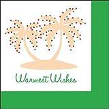 Napkins Warmest Wishes Palms (L)