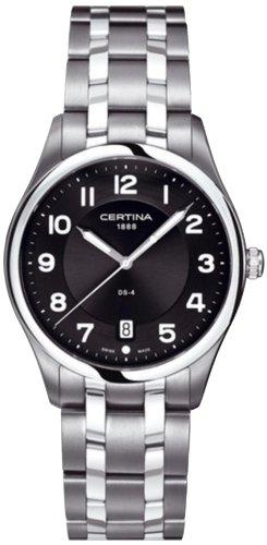 Certina Men's Watch XL Analogue Quartz Stainless Steel C022,410,11,050,00