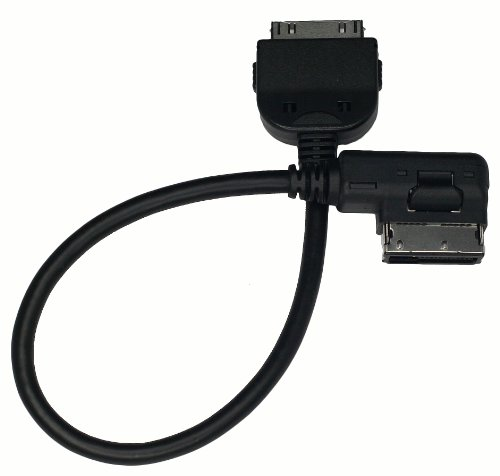 Newest AMI MDI MMI/ iPod Cable Adapter connect Apple iPod iPhone 4, iPhone 3G, iPad to Audi A3/A4/A5/A6/A8/S4/S6/S8/Q5/Q7/R8/TT and Volkswagen Jetta/ GTI/ GLI/ Passat/ CC/ Tiguan/ Touareg/ EOS