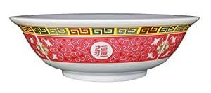 Thunder Group Melamine Oriental Pho Noodle Soup Bowl, 57 Ounce, Longevity Design
