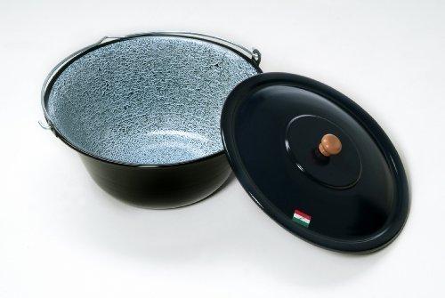 original hongrois Chaudron à goulash 6 Litre avec Couvercle émaillé