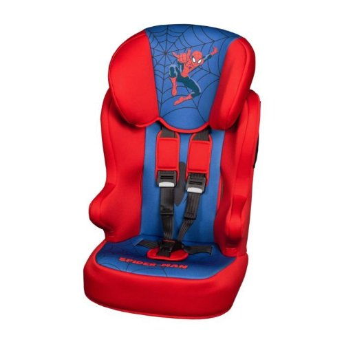 Disney 870523 Racer Spiderman - Seggiolino auto omologato per gruppi 1, 2, 3 (da 1 a 12 anni)