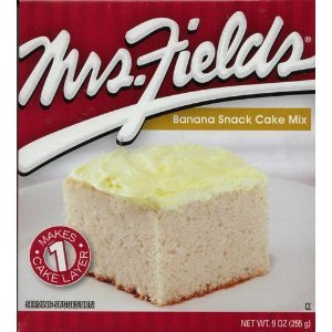 Mrs. Fields Banana Snack Cake Mix