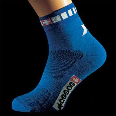 Image of Assos Spring/Fall Coolmax Cycling Socks - Blue - 2100.103.2 (B000JHMX04)