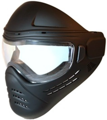 Save Phace Diss Series Phantom Flat Tactical Mask With Satin Clear Coat, Black back-205043