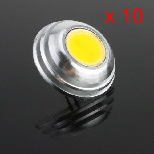 Yaho-Mall 10X Coolwhite G4 Cob Smd Led 2W Lamp Spot Light Bulb Dc 12V 100-120Lm