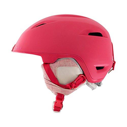 Giro Flare - Casco de esquí para mujer, color rosa / blanco, talla S