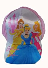 Disney Princess Baseball Cap - Princess Hat (Light Pink)