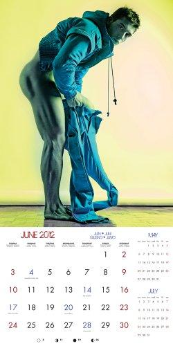 Wild Boys 2012 Calendar