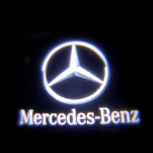 【 ベンツ mercedes-benz 】  配線不要 / 純正交換タイプ   LED レーザーロゴライト (ウェルカムライト)  ドアランプ 2個セット マーベリック #128 アンダースポット / ドアレーザーライト / カテーシライト W164 X164 W169 C197 W204 W204 X204 C207 W212 W212 W216 W211 R230 W245
