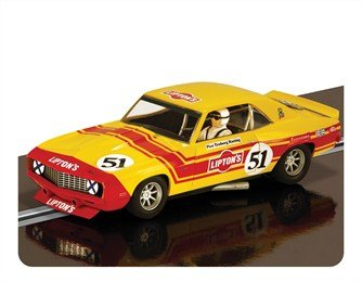 "Scalextric C3314 Chevrolet Camaro 1969 ""Lipton'S"" Slot Car, Scale 1:32"
