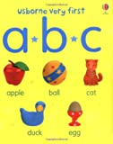 Felicity Brooks ABC (Usborne First Words Board Books)