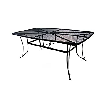 "woodard cm llc 1172-bxu Uptown Collection , 42"" x 72"", Standard Mesh Dining Table"