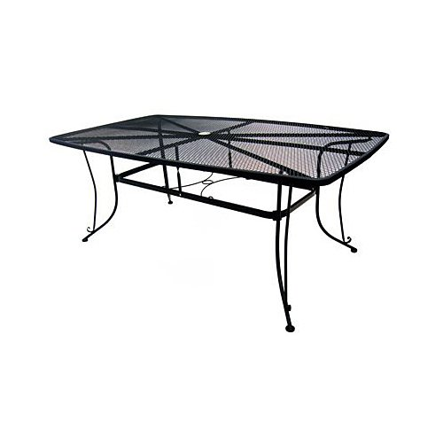 "woodard cm llc 1172-bxu Uptown Collection , 42"" x 72"", Standard Mesh Dining Table 0"