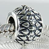 Inner Strength Authentic 925 Sterling Silver Bead Fits Pandora Chamilia Biagi Troll Charms Europen Style Bracelets