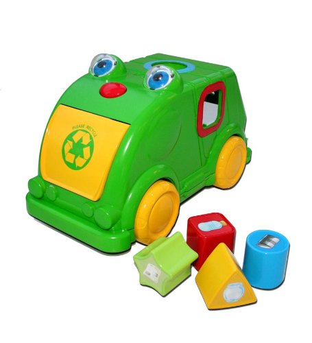 Kidz Delight Recycle Me Interactive Shape Sorter