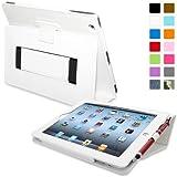 Snugg™ Étui Pour iPad 2 - Smart Cover Avec Support Pied Et Une Garantie à Vie (En Cuir Marron) Pour Apple iPad 2