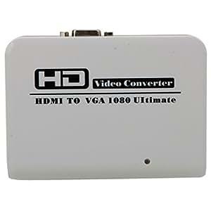 FJ-HV002 HDMI to VAG HD Video Converter White