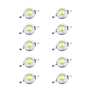 10 LED LAMPADINA BIANCO 1W 90LM 3,6V RISPARMIO ENERGICO  Illuminazione recensione