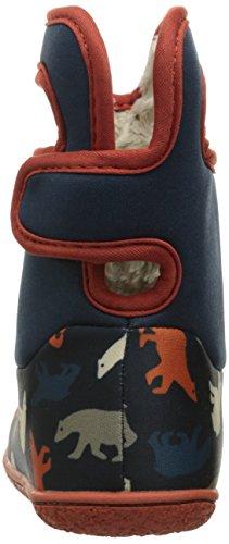Bogs Baby Classic Polar Bear Winter Snow Boot (Toddler), Dark Blue/Multi, 8 M US Toddler