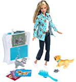 Barbie PET DOCTOR with working X-Ray machine!