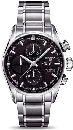 Certina DS-1 Chrono C006.414.11.051.01 Automatic Mens Chronograph Classic & Simple