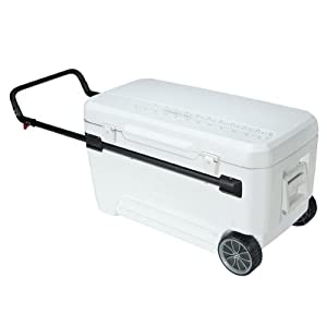 Igloo 45184 Glide Pro 110 Cooler, 150-Can, White by Igloo